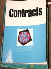 Contracts in a nutshell (Nutshell series)