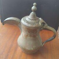 Antique Ottoman Empire Era Copper Brass Dallah Coffee Pot BIN OBO FS