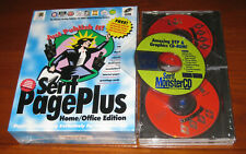1995 Serif Pageplus Sealed Package Home/Office Edition Windows 95 NOS BONUS DISC