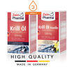 KRILL OIL and Krill Oil Vanilla 500mg Heart Circulation ALL DOSES ZEINPHARMA