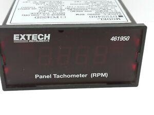 Extech DT2240D Panel Tachometer RPM