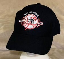 New York Yankees 100th Anniversary Adult OSFA Strapback Hat Cap MLB Baseball