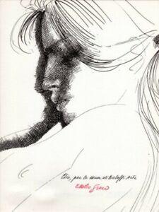 Emilio Greco fotolitografia numerata con firma autografa garantita Bolaffiarte