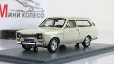 Scale model car 1:43 FORD Escort MK1 Turnier White 1968-1975