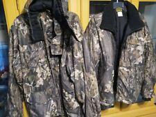 Camo Hunting Jacket. Bear Creek Outfitters two in one, Mossy Oak Breakup, XL.