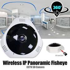1080P HD WIFI Caméra 360° Sans Fil 3D Sécurité CCTV fisheye Vidéo Surveillance