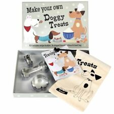 Make Your Own Doggy Treats Baking Set - Recipe Book & Cutters