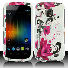 For Samsung Galaxy Proclaim SCH-S720C HARD Case Phone Cover White Purple Flowers