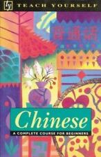 Teach Yourself Chinese Complete Course  for Beginners by Scurfield NEW