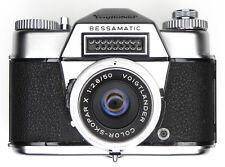 Voigtlander Bessamatic with 50mm f2.8 Color-Skopar  #95444 ............. Minty