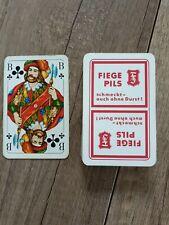 Skatspiel, Kartenspiel Brauerei, FIEGE PILS von 1969