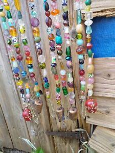 Suncatcher Windchime Glassbeads Garden Home Decor