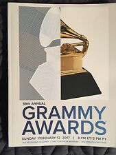 OFFICIAL 2017 59TH GRAMMY AWARDS PROGRAM BRAND NEW! PRIORITY SHIPPING ADELE