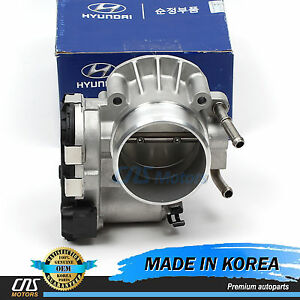 GENUINE Throttle Body for 2010-2014 Hyundai Genesis Coupe 2.0L OEM 351002C300