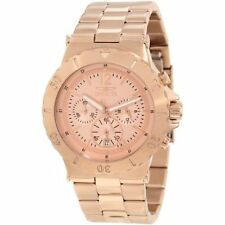 Invicta Men's 1267 Specialty Chronograph  18k Rose Gold Ion-Plated Watch