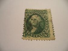 (72) EARLY AMERICAN STAMP SG64 / SCOTT 68?  (1) IN GOOD TO VERY GOOD CONDITION