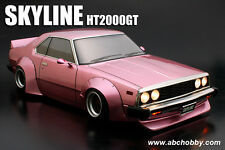 ABC-Hobby 66167 1/10 Nissan Skyline HT2000GT (C210) Works m. extra breiten Radhä