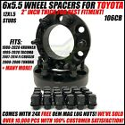 6x5.5 Hub Centric 2 Inch Wheel Spacers For Toyota 4Runner Tacoma 50mm 6x139.7