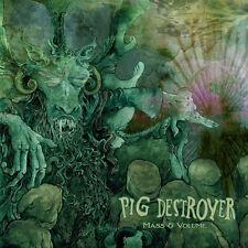 """Pig Destroyer - Mass & Volume 12"""" NASUM PHOBIA ROTTEN SOUND NAPALM DEATH"""