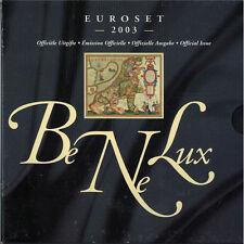 [#93422] Benelux, Euro Set of 24 coins + 1 token, 2003