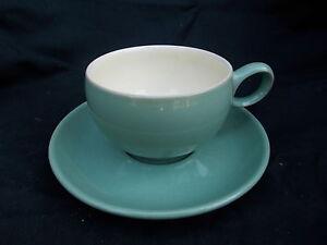 Denby MANOR GREEN  Teacup and Saucer