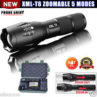 G700 5000LM X800 LED Flashlight Tactical XML-T6 18650/AAA Zoomable Torch Lamp UK