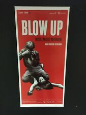 Blow Up Antonioni (edizione restaurata 2017) Locandina cm. 33x70