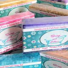 Add 5 to basket for offer Luxury Vegan Handmade Soap Eco Bio Packaging Scented
