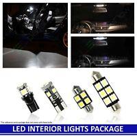 14pcs LED Xenon White  Light Interior Package Kit for Toyota Highlander