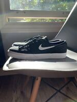 Men's Nike Stefan Janoski Skateboarding Shoes Size 10 Black/White