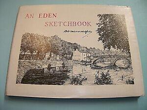 A WAINWRIGHT. AN EDEN SKETCHBOOK. 1980 1st EDITION HARDBACK in DUST JACKET