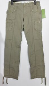 Roxy Olive Green Jimmy Cargo Pants Size 3 28x32 P502