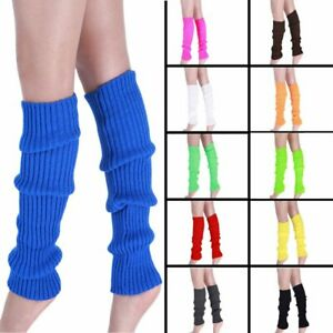 Thigh High Knee High Socks Long Cotton Knit Leg Stockings
