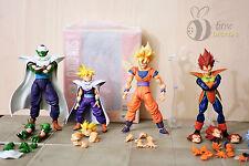 Sh Figuarts Sdcc Super Saiyan Goku, Gohan, Piccolo, Vegeta & Goku Frieza Saga