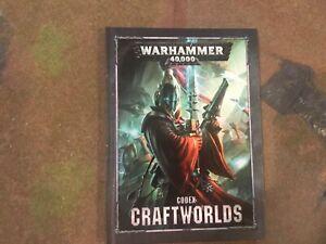 WH40K 8th Edition Codex Craftworlds Eldar
