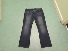 "Moto Straight Jeans Waist 32"" Leg 29"" Dark Blue Ladies Jeans"