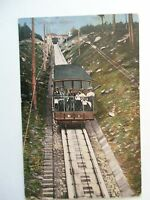 Ansichtskarte Wildbad um 1900? Bergbahn mit Personen Bahn