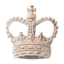 United Kingdom Uk St Edward's Crown Nickel Pin Badge