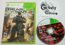 USED Gears of War 3 XBOX 360 -Canadian Seller-