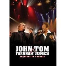 JOHN FARNHAM & TOM JONES TOGETHER IN CONCERT DVD REGION 0 PAL NEW