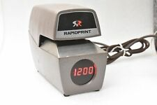 Rapidprint ARL-E Time & Date Automatic Stamp Time Card LED Clock Display