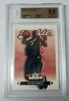 2003-04 Upper Deck MVP #205 Dwayne Wade Rookie Card RC BGS 9.5 Gem Mint - HEAT!!