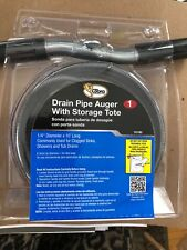 """New! Cobra Drain Clean Out Auger 1/4 """" X 10 '"""