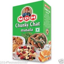 MDH CHUNKY CHAT Masala Powder Indian Blended Spice Masala for Indian Recipes100g