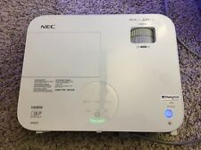 NEC M282X DLP Projector 2800 Ansi HD HDMI 1080i/p including Lamp & Accessories