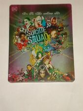 Suicide Squad Blu Ray 3D 2D  Steelbook 3 Disc Edition
