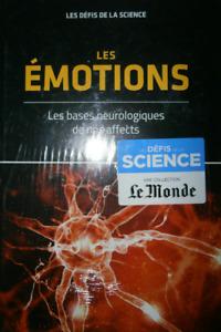 LIVRE - LES DEFIS DE LA SCIENCE, LES EMOTIONS / LE MONDE, RBA, NEUF
