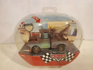 """Disney Store Exclusive CARS Movie 6"""" Talking TOW MATER New Factory Sealed 2006"""