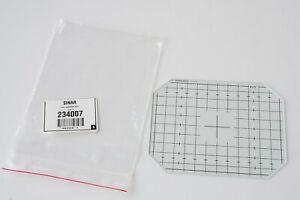 NOS SINAR 4x5 Ground Glass Focusing Screen  Swiss Made cat# 234007