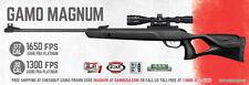 Gamo Magnum Air Rifle .22 Caliber 1300 fps / PBA Platinum 3-9x40 61100615554